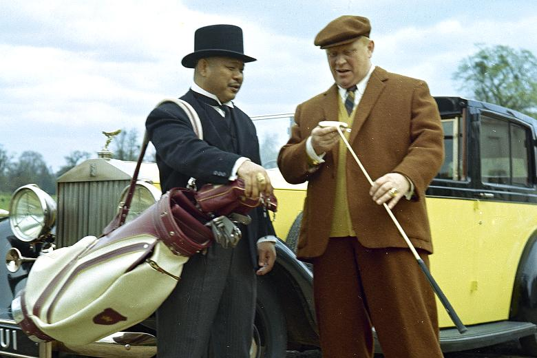 Goldfinger and oddjob